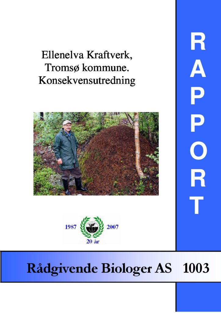 Rapport cover - rapport 1003
