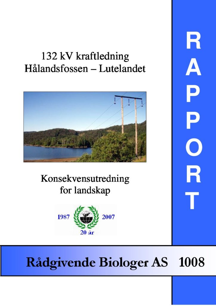 Rapport cover - rapport 1008