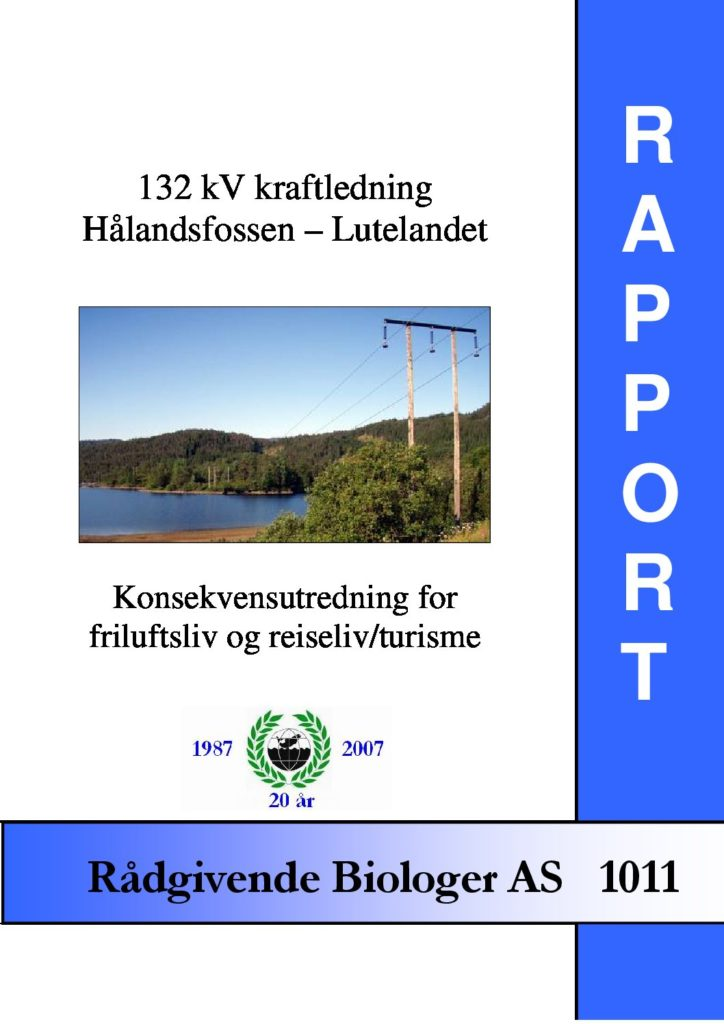 Rapport cover - rapport 1011