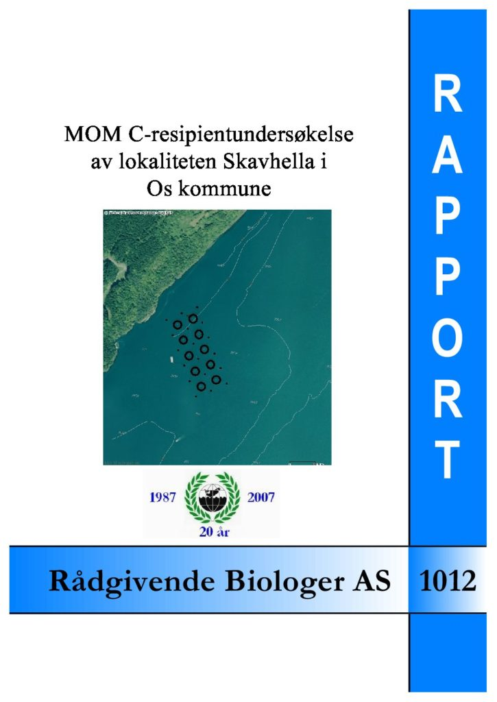 Rapport cover - rapport 1012