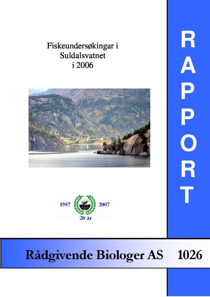 Rapport cover - rapport 1026