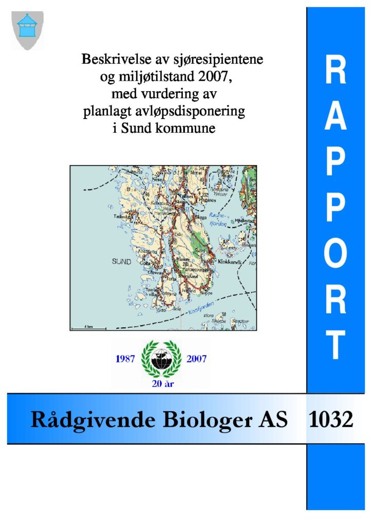 Rapport cover - rapport 1032