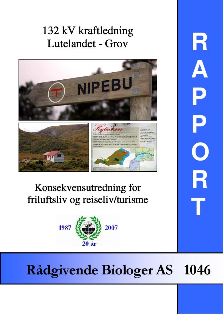 Rapport cover - rapport 1046