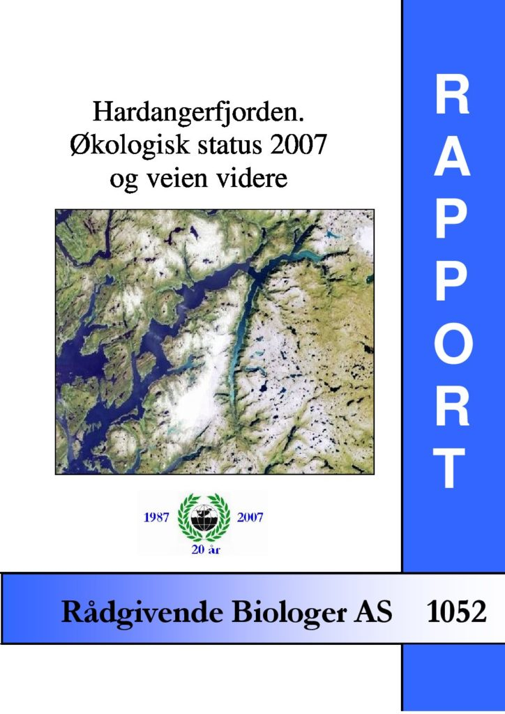 Rapport cover - rapport 1052