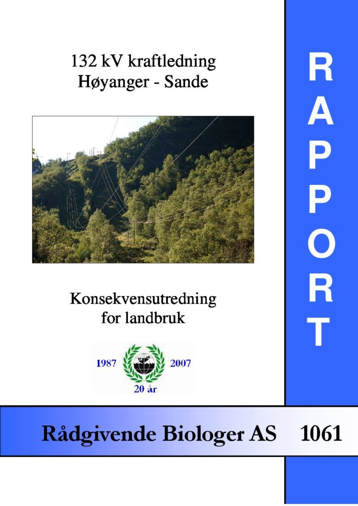 Rapport cover - rapport 1061