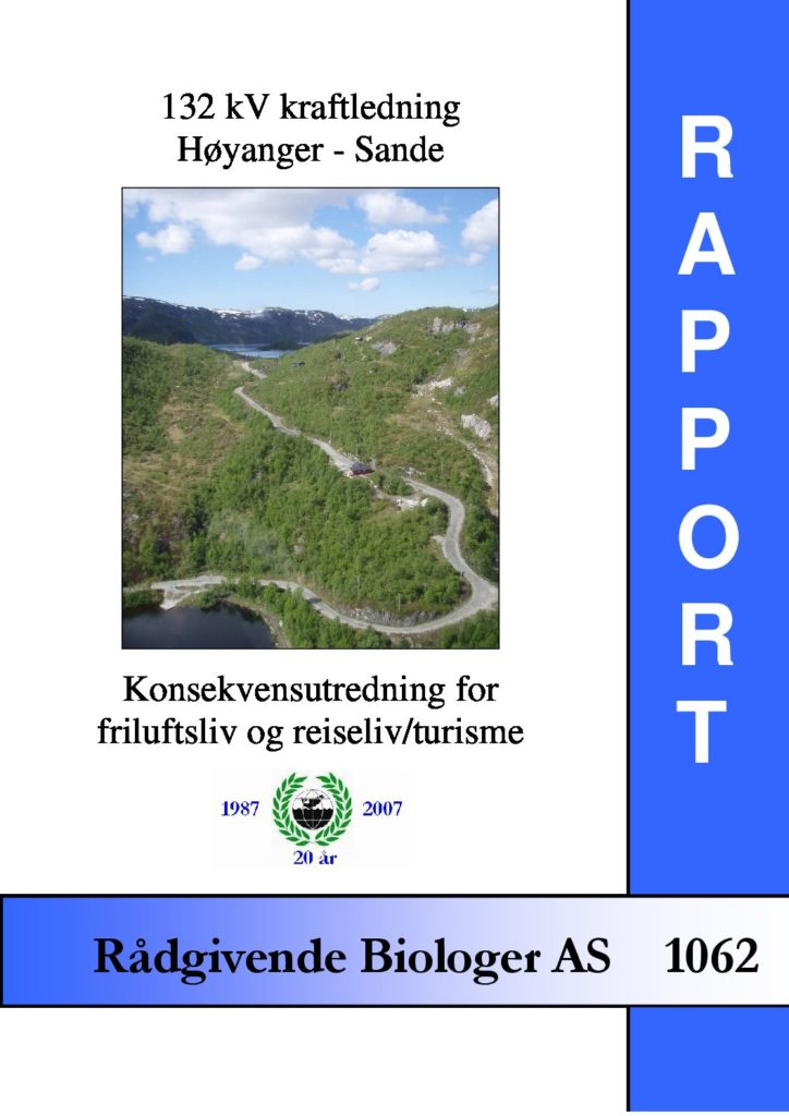 Rapport cover - rapport 1062