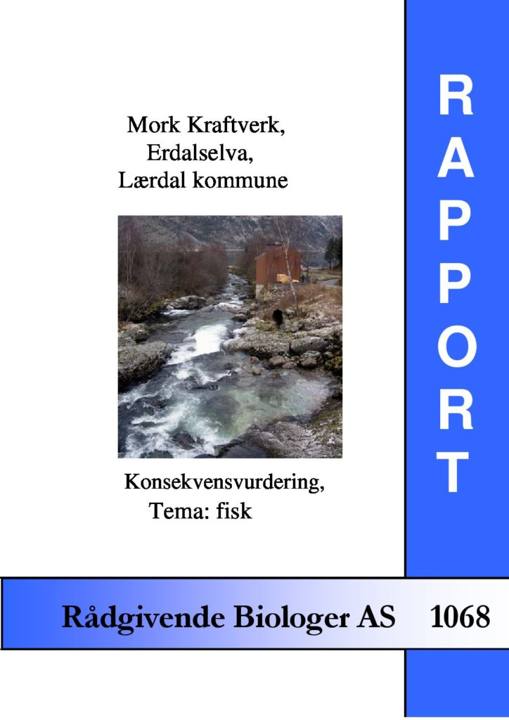 Rapport cover - rapport 1068