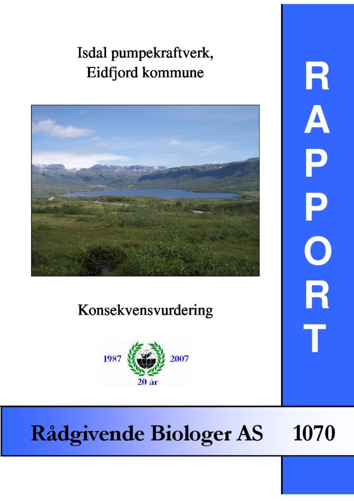 Rapport cover - rapport 1070