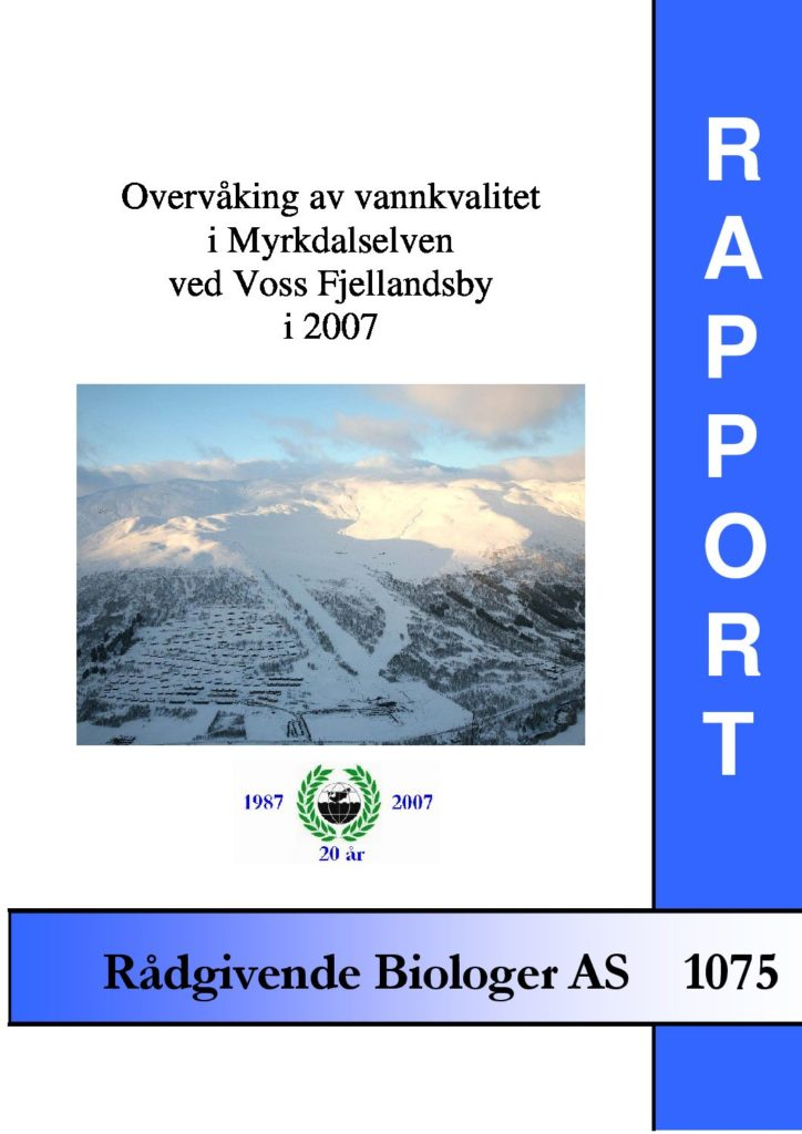 Rapport cover - rapport 1075