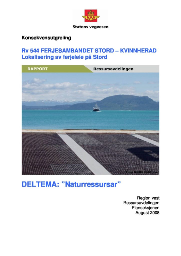 Rapport cover - rapport 1117