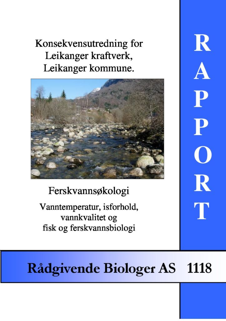 Rapport cover - rapport 1118