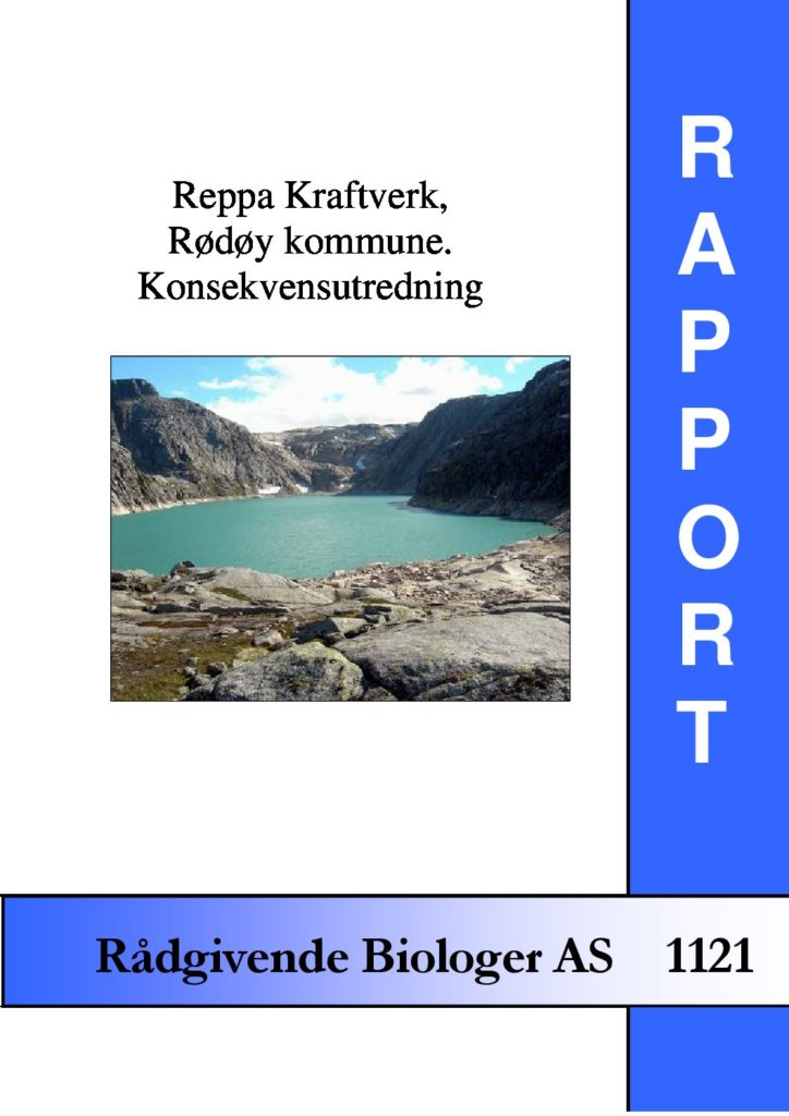 Rapport cover - rapport 1121