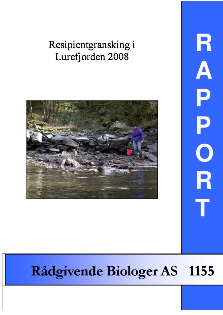Rapport cover - rapport 1155