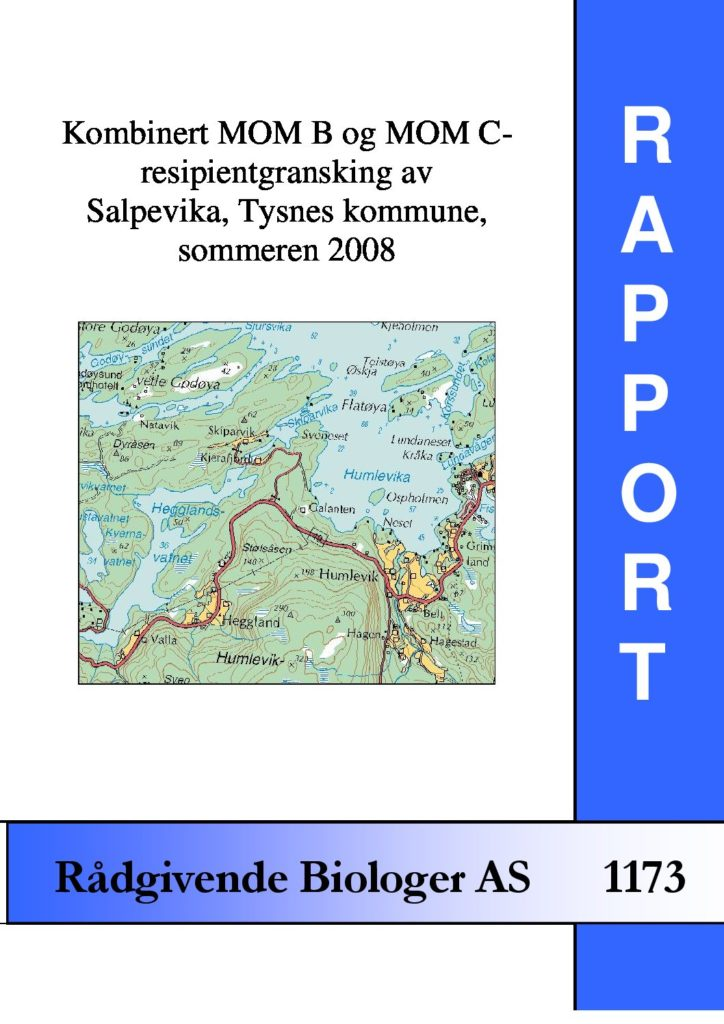 Rapport cover - rapport 1173