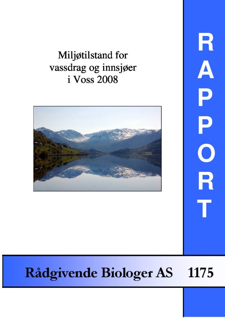 Rapport cover - rapport 1175