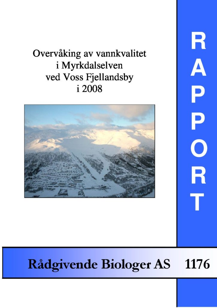 Rapport cover - rapport 1176