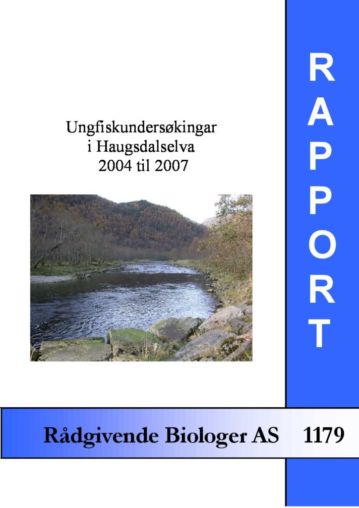 Rapport cover - rapport 1179