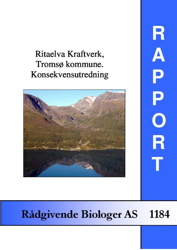 Rapport cover - rapport 1184