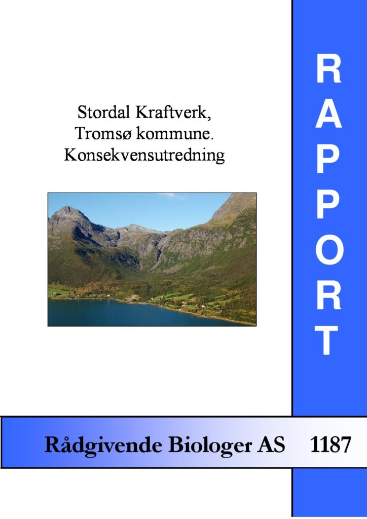 Rapport cover - rapport 1187