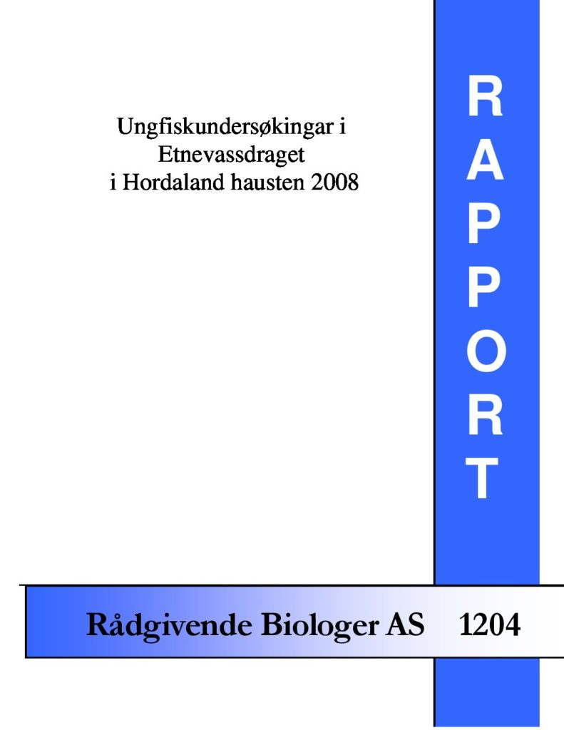 Rapport cover - rapport 1204