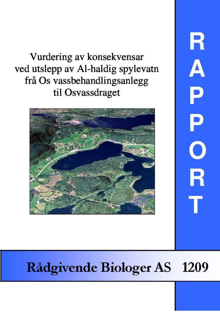 Rapport cover - rapport 1209