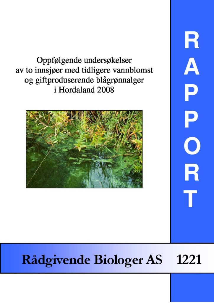 Rapport cover - rapport 1221