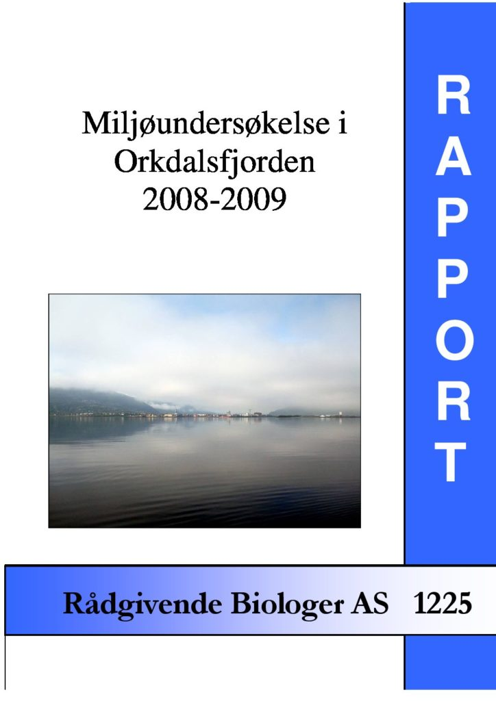 Rapport cover - rapport 1225
