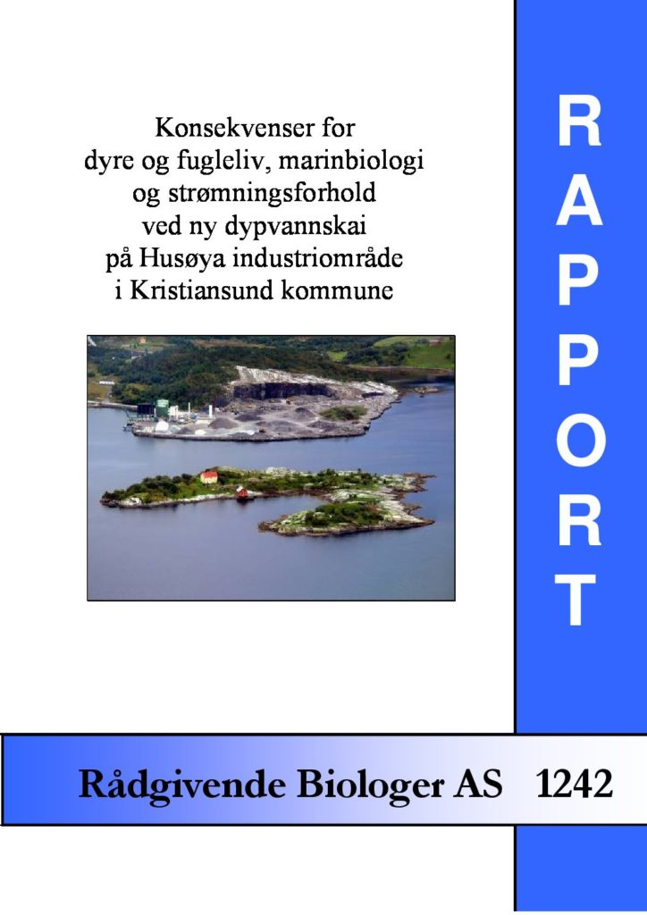 Rapport cover - rapport 1242