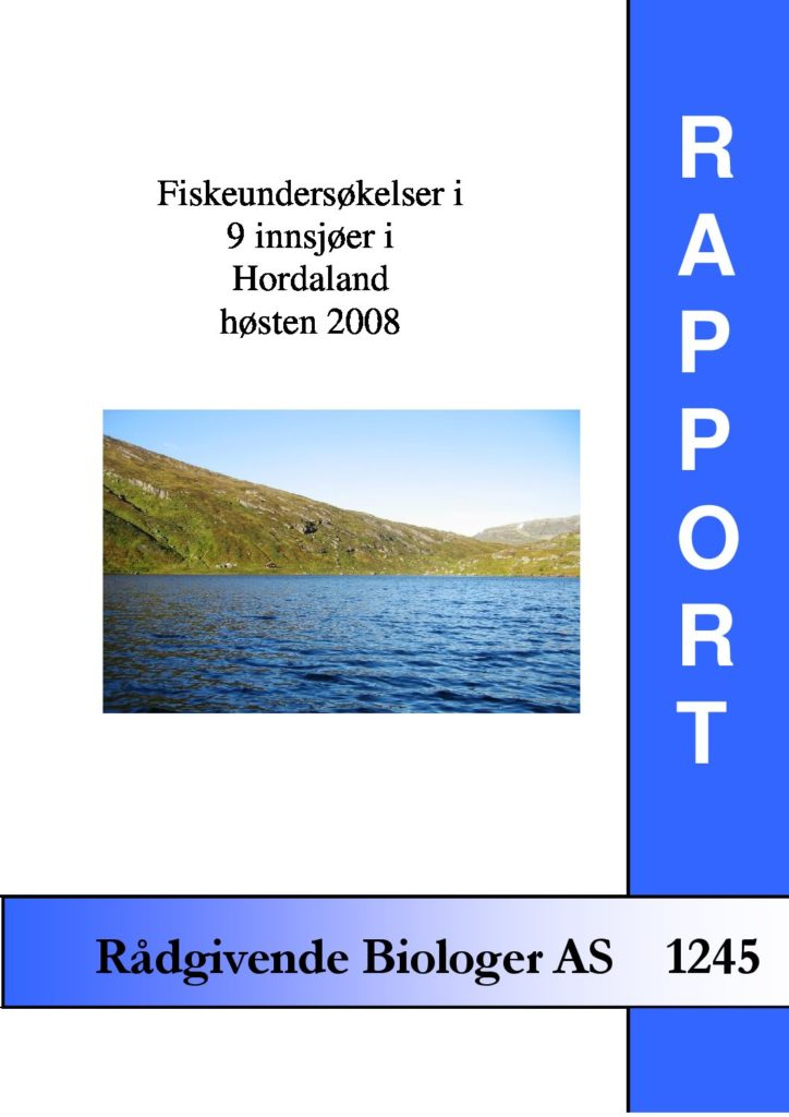 Rapport cover - rapport 1245