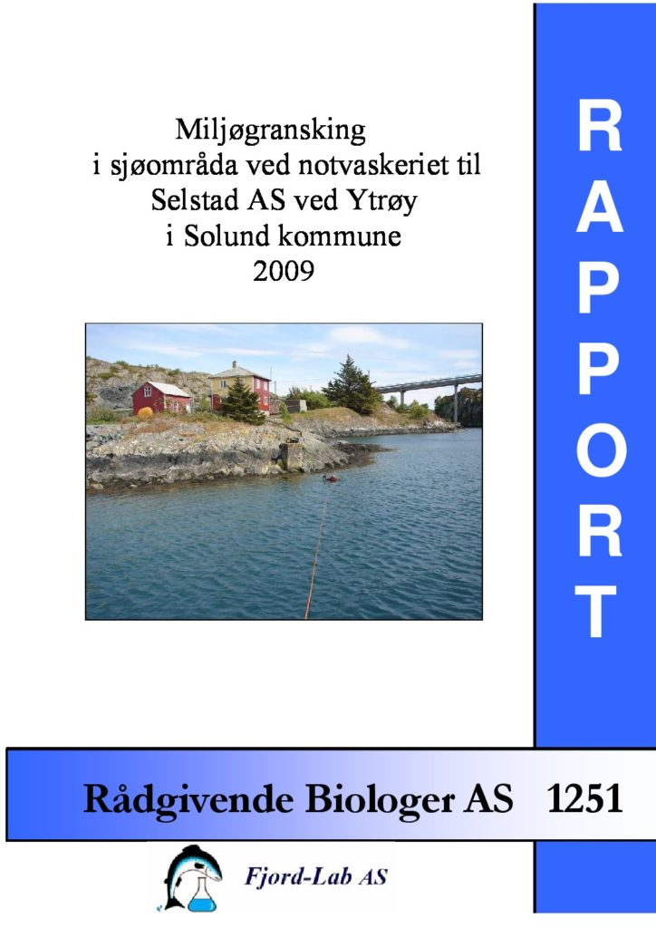 Rapport cover - rapport 1251