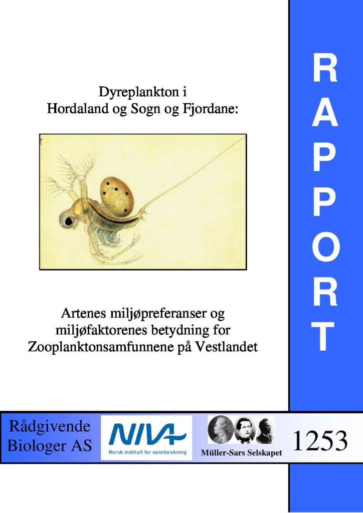 Rapport cover - rapport 1253
