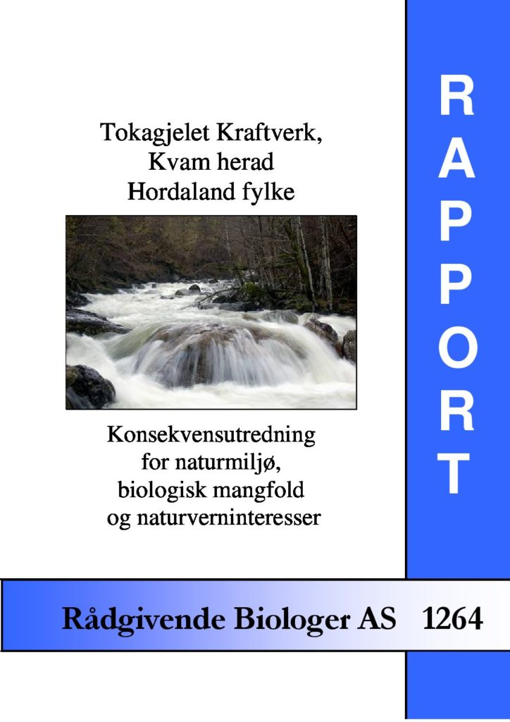 Rapport cover - rapport 1264