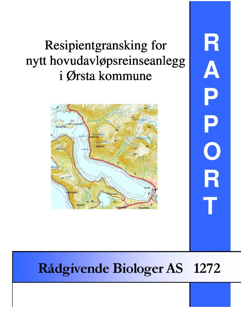 Rapport cover - rapport 1272