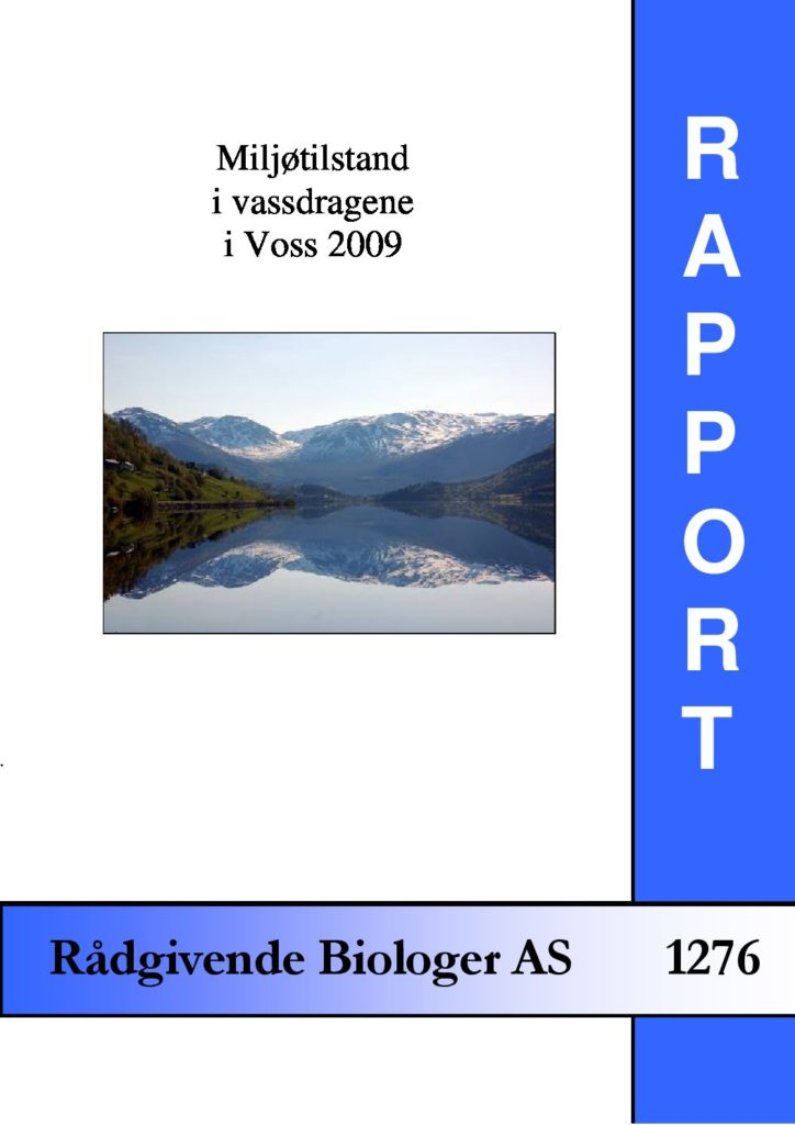 Rapport cover - rapport 1276