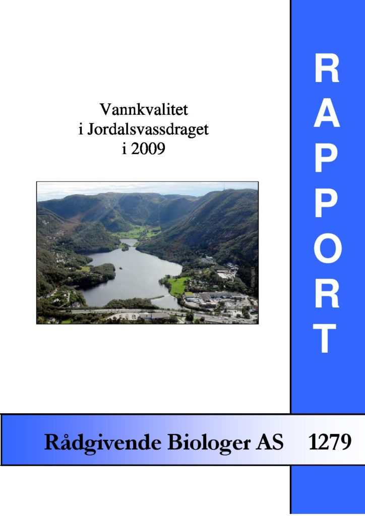 Rapport cover - rapport 1279