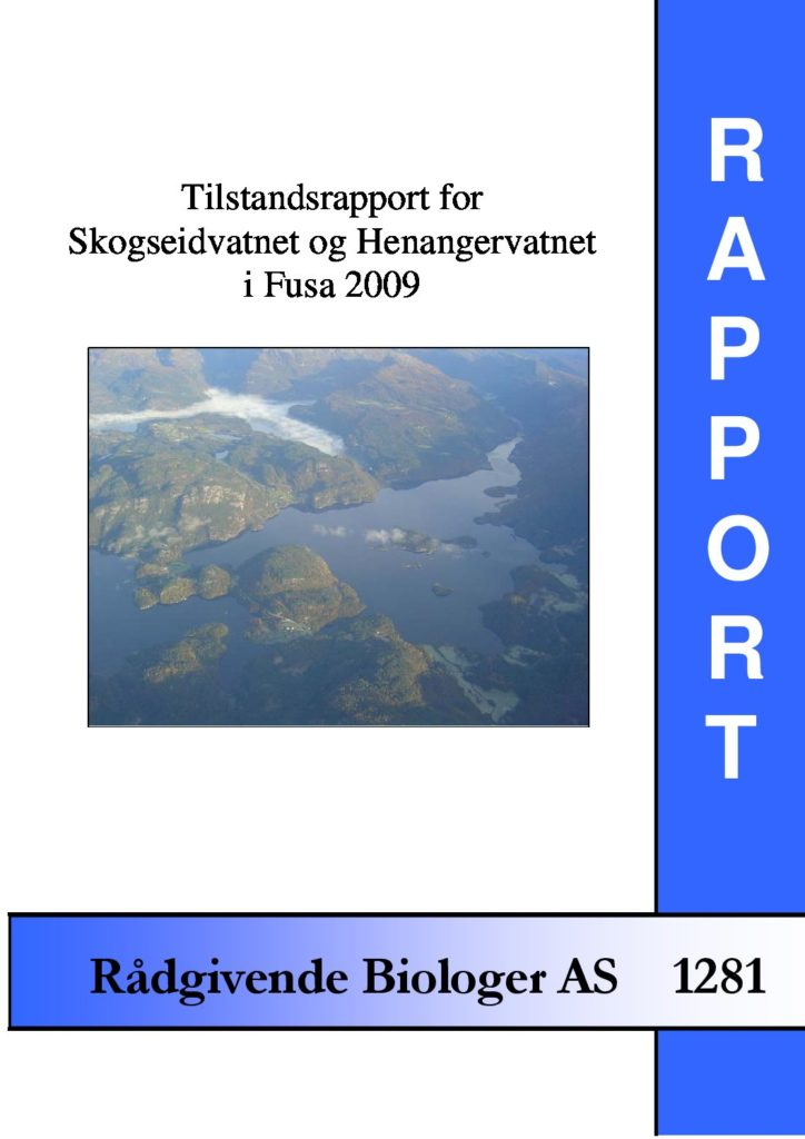 Rapport cover - rapport 1281