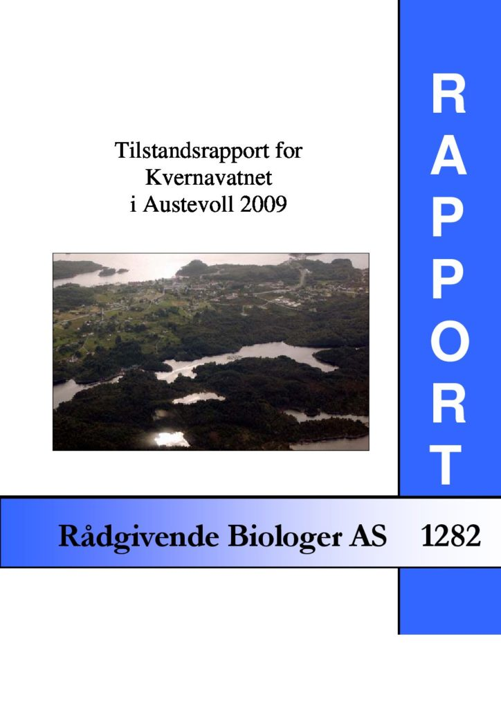 Rapport cover - rapport 1282
