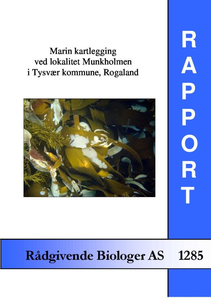 Rapport cover - rapport 1285