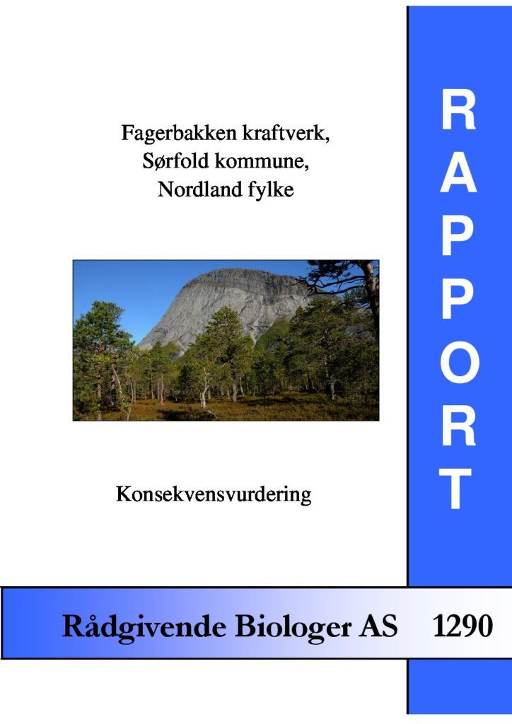 Rapport cover - rapport 1290
