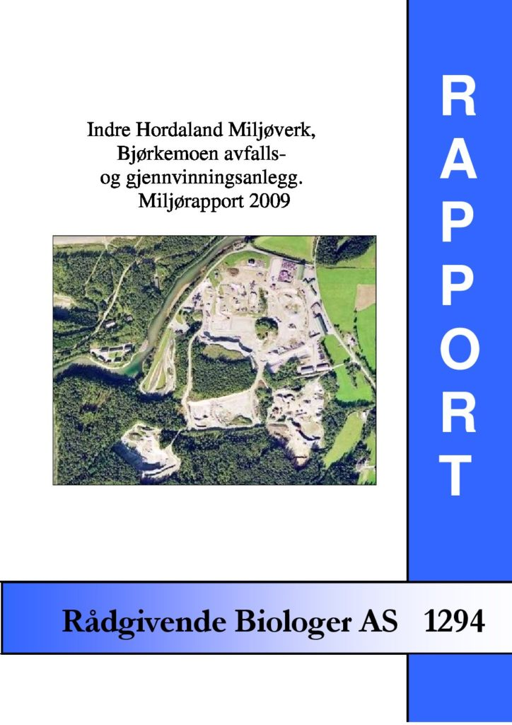 Rapport cover - rapport 1294