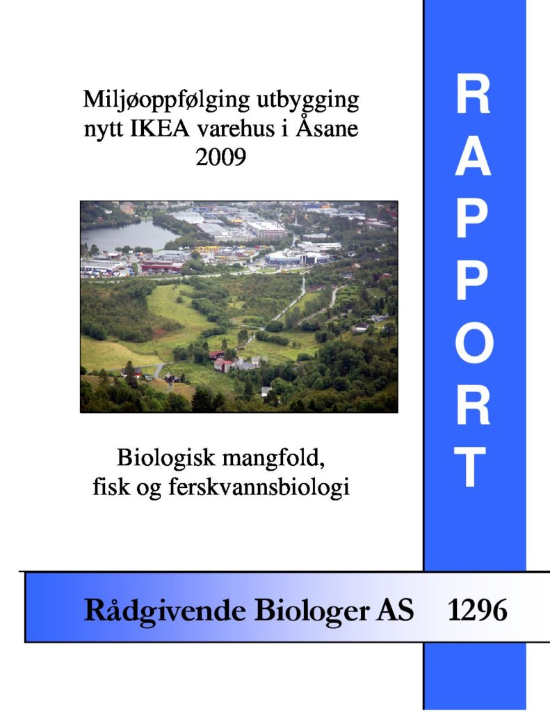 Rapport cover - rapport 1296