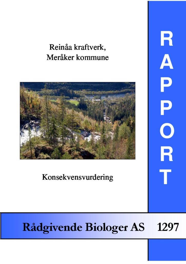 Rapport cover - rapport 1297