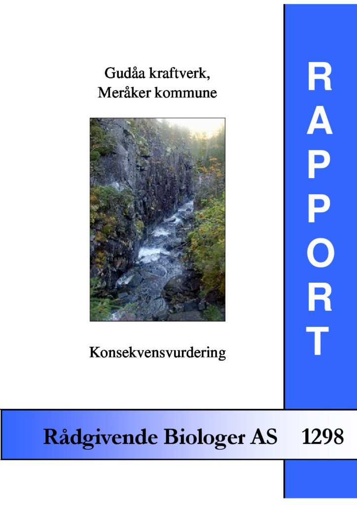 Rapport cover - rapport 1298