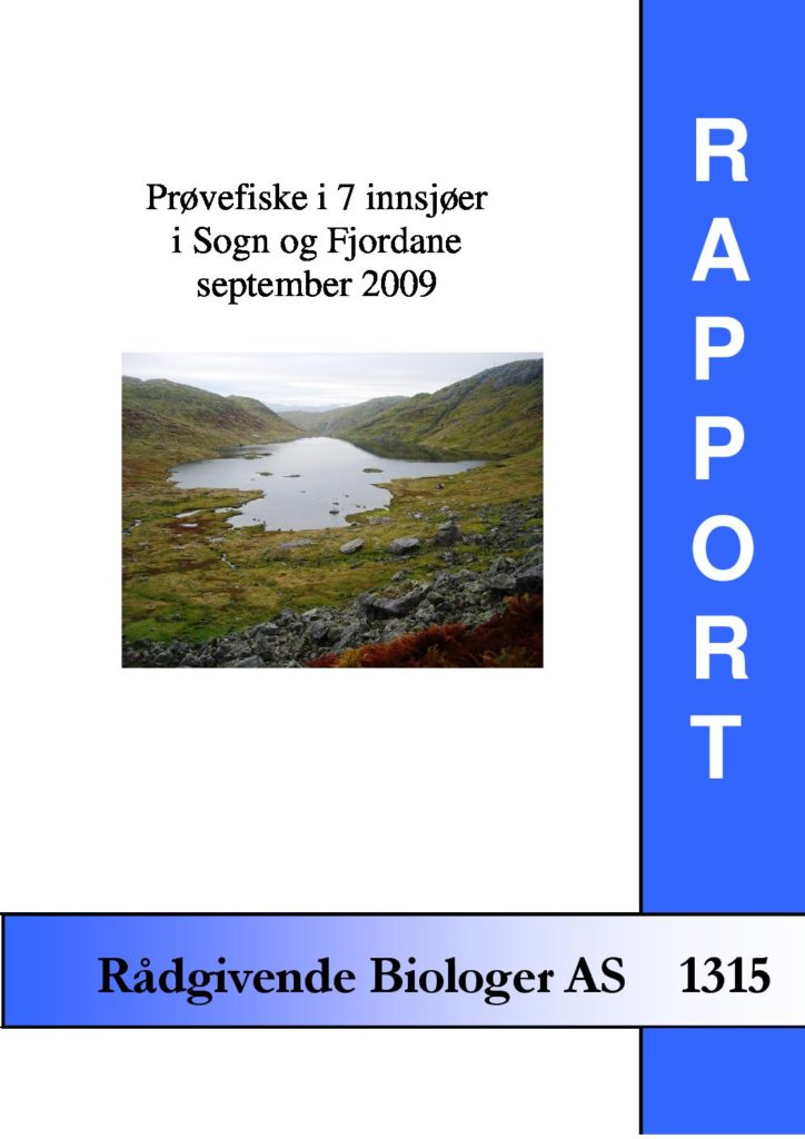 Rapport cover - rapport 1315