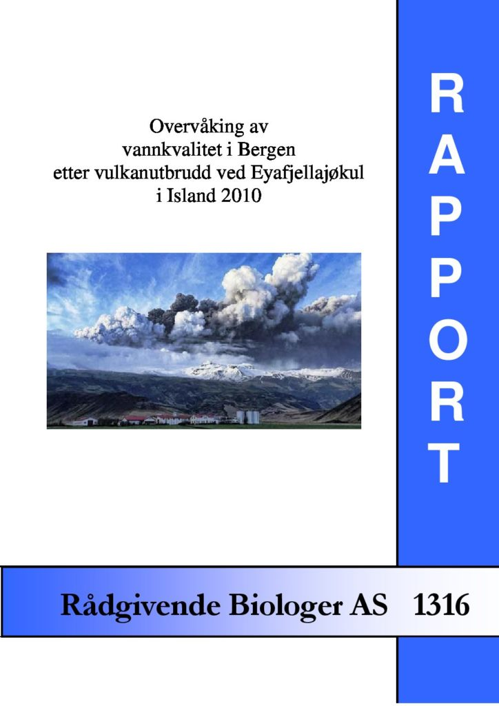 Rapport cover - rapport 1316