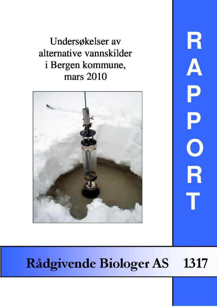 Rapport cover - rapport 1317