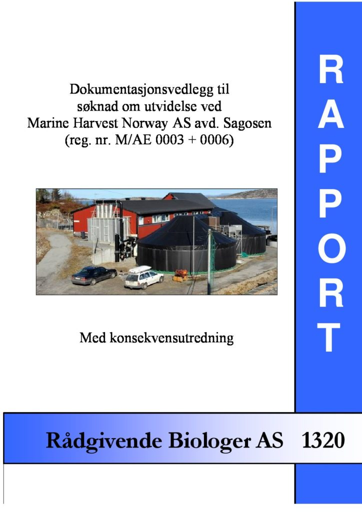 Rapport cover - rapport 1320