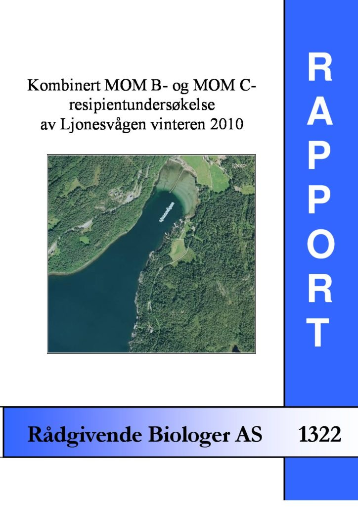 Rapport cover - rapport 1322