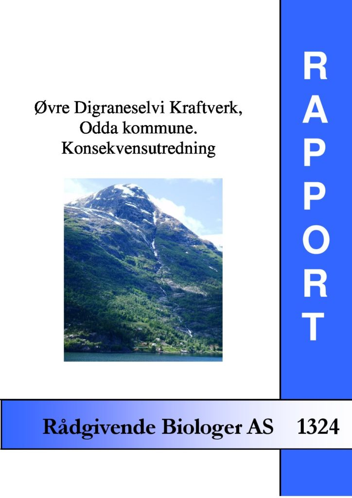 Rapport cover - rapport 1324