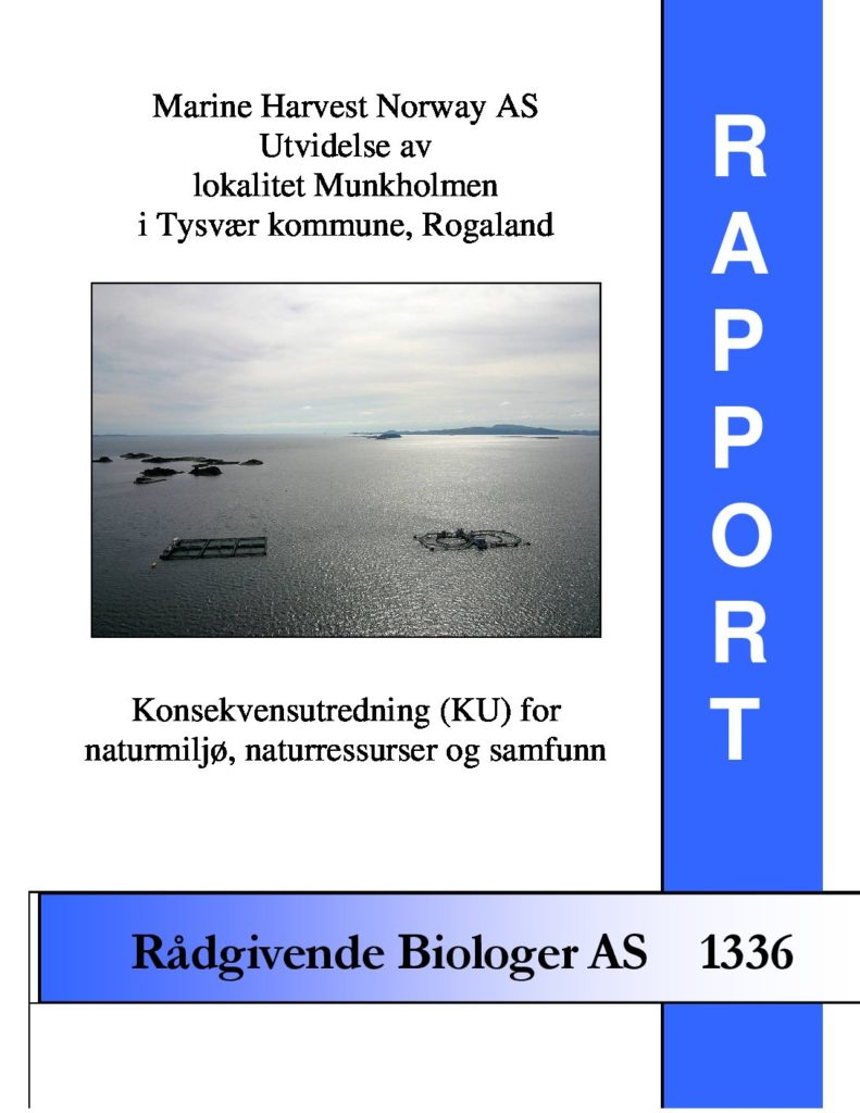 Rapport cover - rapport 1336